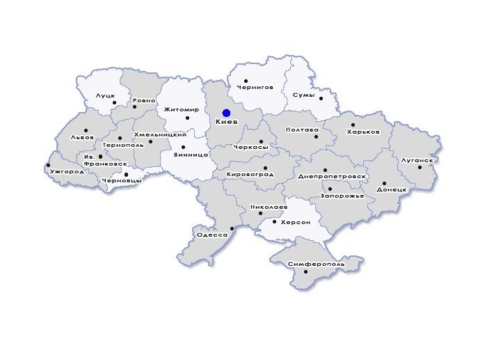 Visicom Карта Украины